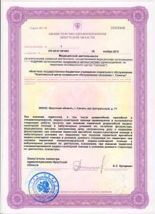 лицензия 3лист